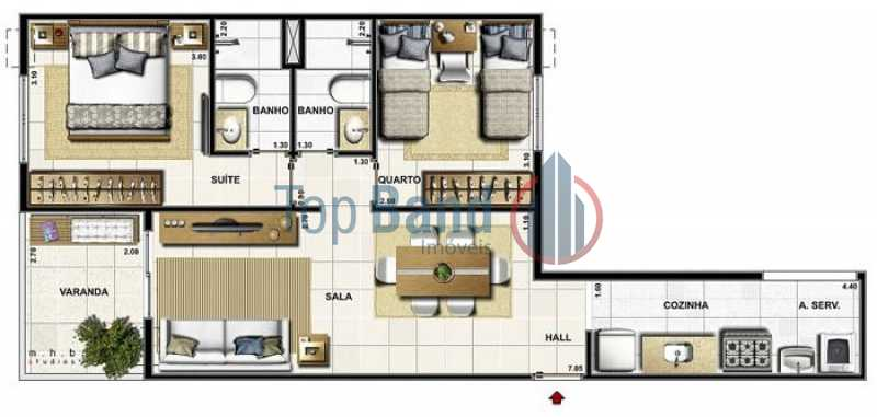 IMG-20170903-WA0020 - Apartamento Rua Professor Henrique Costa,Pechincha,Rio de Janeiro,RJ À Venda,2 Quartos - TIAP20180 - 10