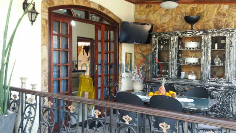 varanda frente1 - Casa Estrada do Cantagalo,Campo Grande, Rio de Janeiro, RJ À Venda, 10 Quartos - TICA100001 - 23