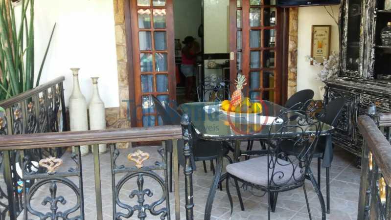 varanda frente - Casa Estrada do Cantagalo,Campo Grande, Rio de Janeiro, RJ À Venda, 10 Quartos - TICA100001 - 22