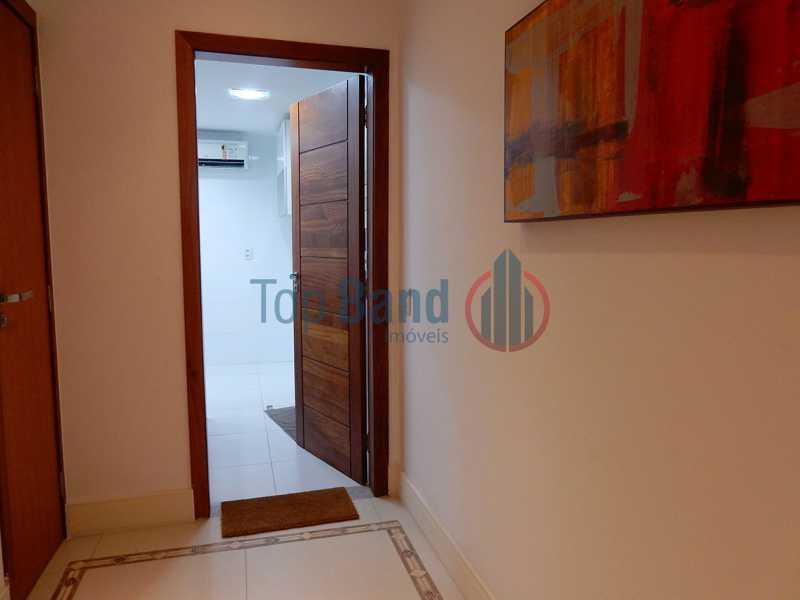 15_cobertura_1andar_hallentrad - Cobertura à venda Rua Zoila de Abreu Teixeira,Barra da Tijuca, Rio de Janeiro - R$ 2.700.000 - TICO40009 - 31