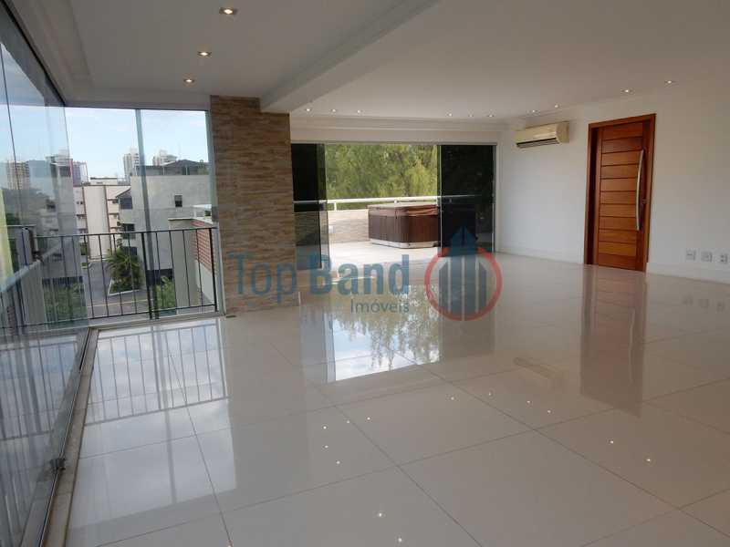 21_cobertura_1andar_sala02 - Cobertura à venda Rua Zoila de Abreu Teixeira,Barra da Tijuca, Rio de Janeiro - R$ 2.700.000 - TICO40009 - 3
