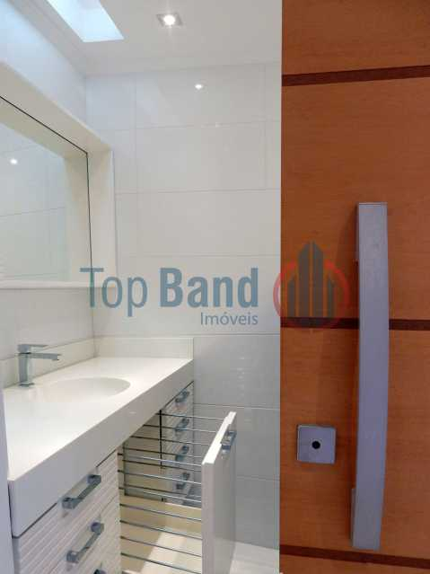 27_cobertura_1andar_lavabo - Cobertura à venda Rua Zoila de Abreu Teixeira,Barra da Tijuca, Rio de Janeiro - R$ 2.700.000 - TICO40009 - 17