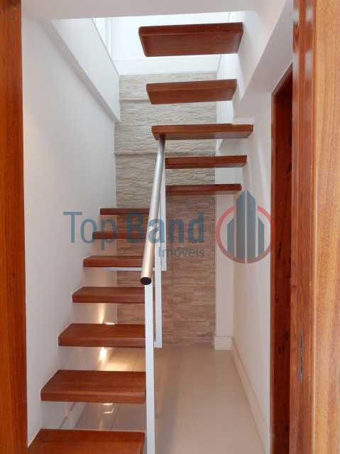 33_cobertura_1andar_escadaanda - Cobertura à venda Rua Zoila de Abreu Teixeira,Barra da Tijuca, Rio de Janeiro - R$ 2.700.000 - TICO40009 - 16