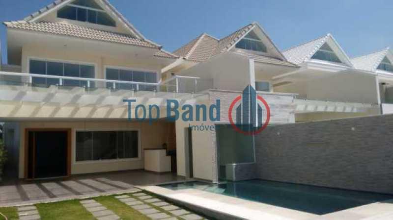 10369_G1464879131 - Casa em Condomínio 4 quartos à venda Barra da Tijuca, Rio de Janeiro - R$ 2.800.000 - TICN40092 - 1
