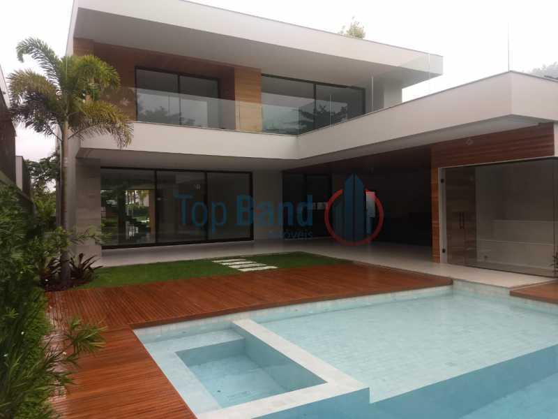 1 - Casa em Condomínio à venda Rua Rachel de Queiroz,Barra da Tijuca, Rio de Janeiro - R$ 5.900.000 - TICN50027 - 1