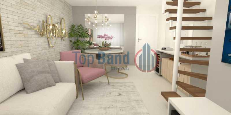 0faebcde-dfdc-4c6f-95f6-8e4e64 - Apartamento 2 quartos à venda Recreio dos Bandeirantes, Rio de Janeiro - R$ 489.000 - TIAP20428 - 1