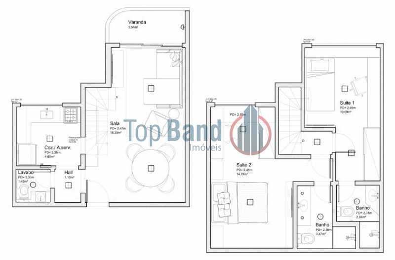 5c942adc-d4bb-437a-b692-8707d2 - Apartamento 2 quartos à venda Recreio dos Bandeirantes, Rio de Janeiro - R$ 489.000 - TIAP20428 - 17
