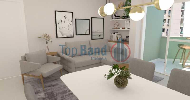 1 - Apartamento Recreio dos Bandeirantes, Rio de Janeiro, RJ À Venda, 2 Quartos, 100m² - TIAP20430 - 3