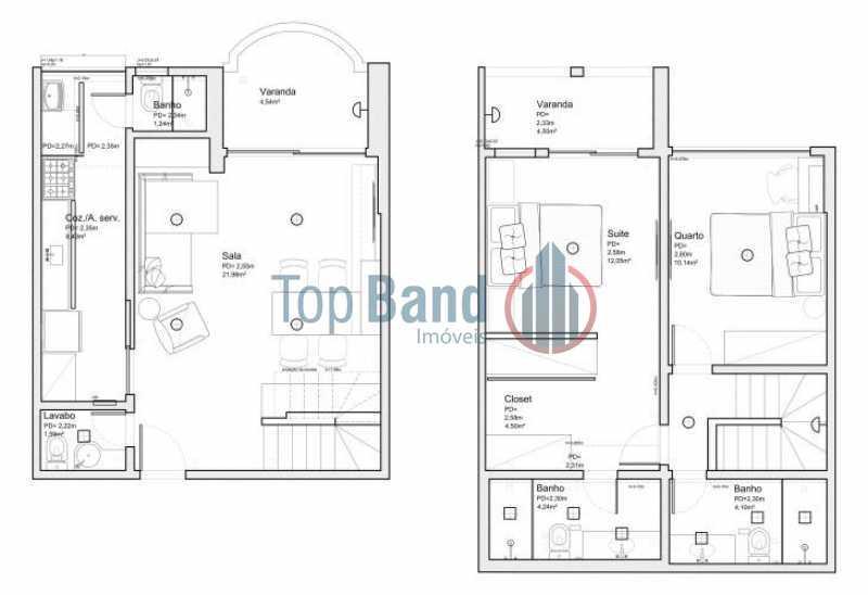88 - Apartamento Recreio dos Bandeirantes, Rio de Janeiro, RJ À Venda, 2 Quartos, 100m² - TIAP20430 - 21