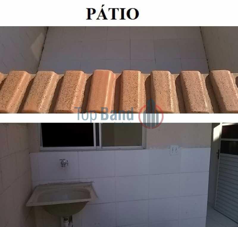 PÁTIO COM TANQUE VB2 LiLi - Casa em Condomínio à venda Estrada Cabuçu de Baixo,Guaratiba, Rio de Janeiro - R$ 165.000 - TICN20022 - 7
