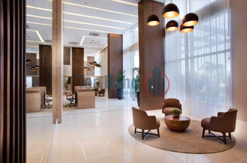 03_Lobby-800x530 - Apartamento à venda Rua Escritor Rodrigo Melo Franco,Barra da Tijuca, Rio de Janeiro - R$ 730.000 - TIAP20486 - 6