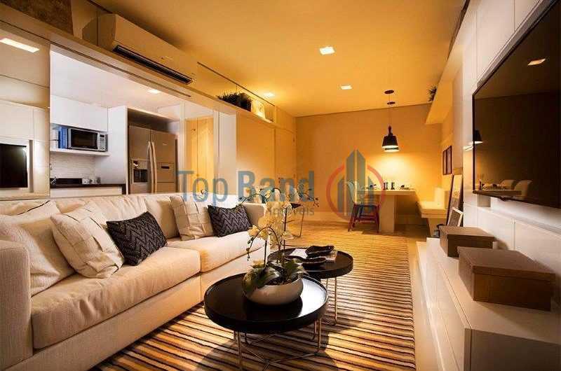 05_Sala-800x530 1 - Apartamento à venda Rua Escritor Rodrigo Melo Franco,Barra da Tijuca, Rio de Janeiro - R$ 730.000 - TIAP20486 - 8