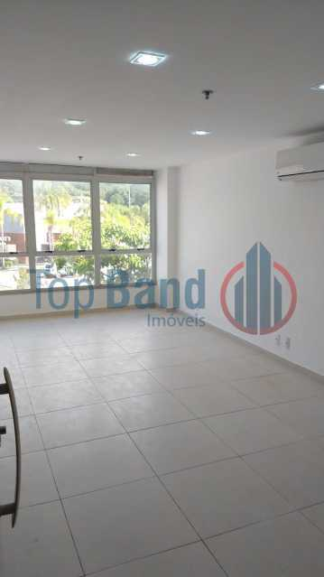 c3e682dd-f09b-4474-896a-0f6849 - Sala Comercial 23m² para venda e aluguel Estrada dos Bandeirantes,Curicica, Rio de Janeiro - R$ 130.000 - TISL00144 - 4