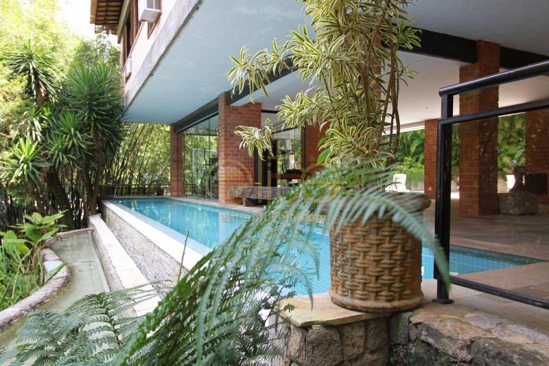 FOTO1 - Casa Para Alugar no Condomínio Iposeira - São Conrado - Rio de Janeiro - RJ - 71378 - 1