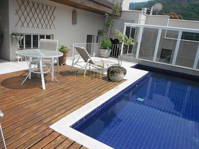 FOTO14 - Apartamento À Venda no Condomínio Barrinha - Barra da Tijuca - Rio de Janeiro - RJ - AP0048 - 15