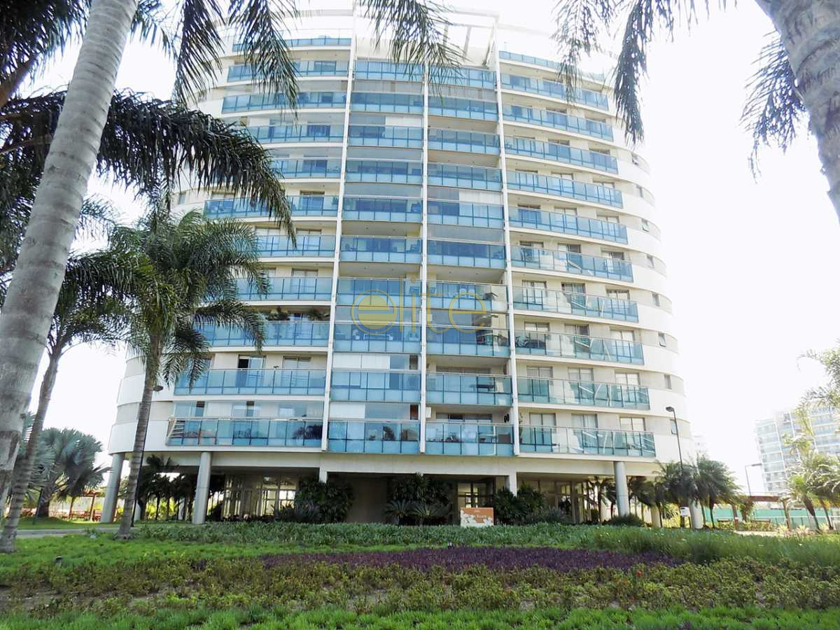 1 fachada - Apartamento À Venda no Condomínio Santa Monica Jardins Club - Barra da Tijuca - Rio de Janeiro - RJ - 40199 - 1
