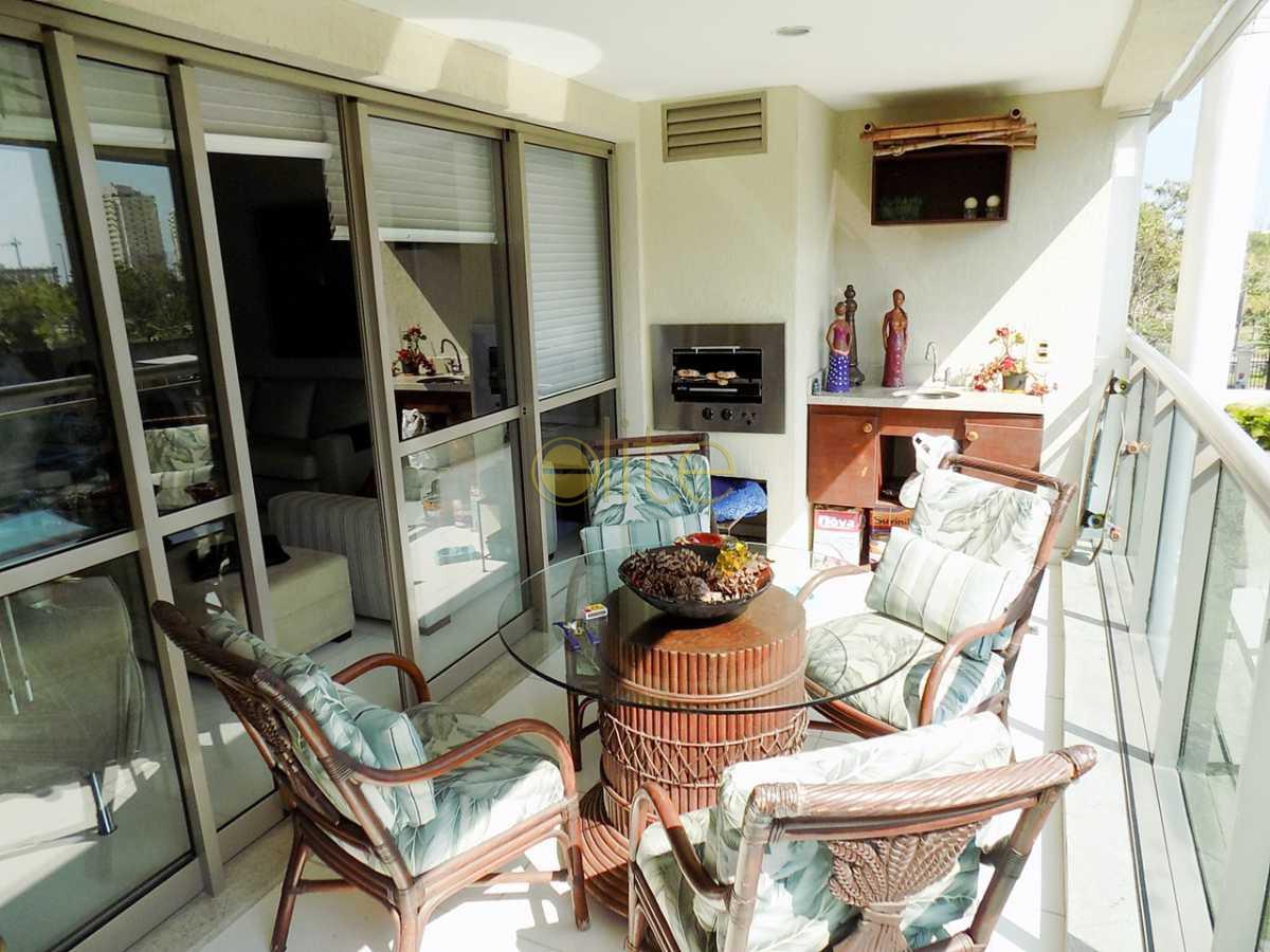5 varanda f.2 - Apartamento no condomínio À Venda - Condomínio Santa Monica Jardins Club - Barra da Tijuca - Rio de Janeiro - RJ - 40199 - 4