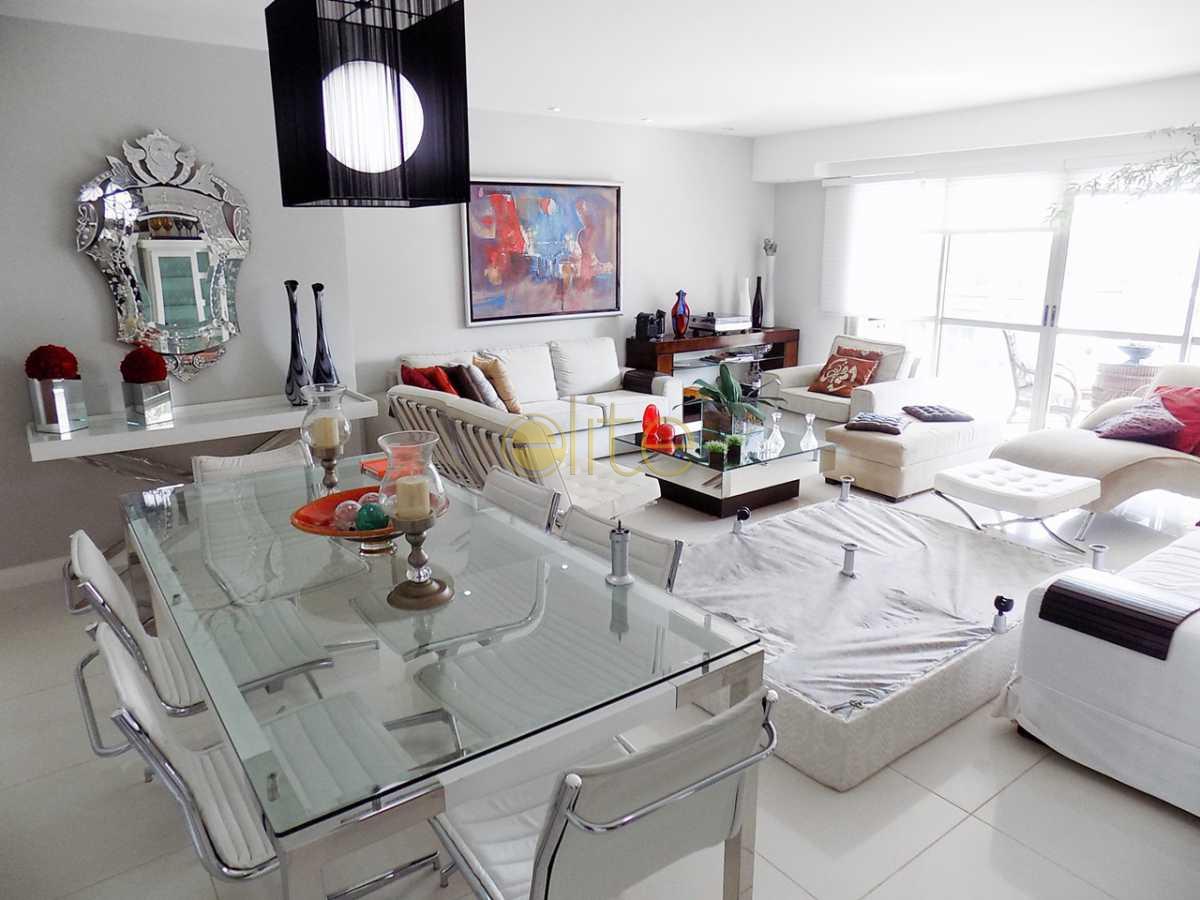 9 sala f.4 - Apartamento no condomínio À Venda - Condomínio Santa Monica Jardins Club - Barra da Tijuca - Rio de Janeiro - RJ - 40199 - 8