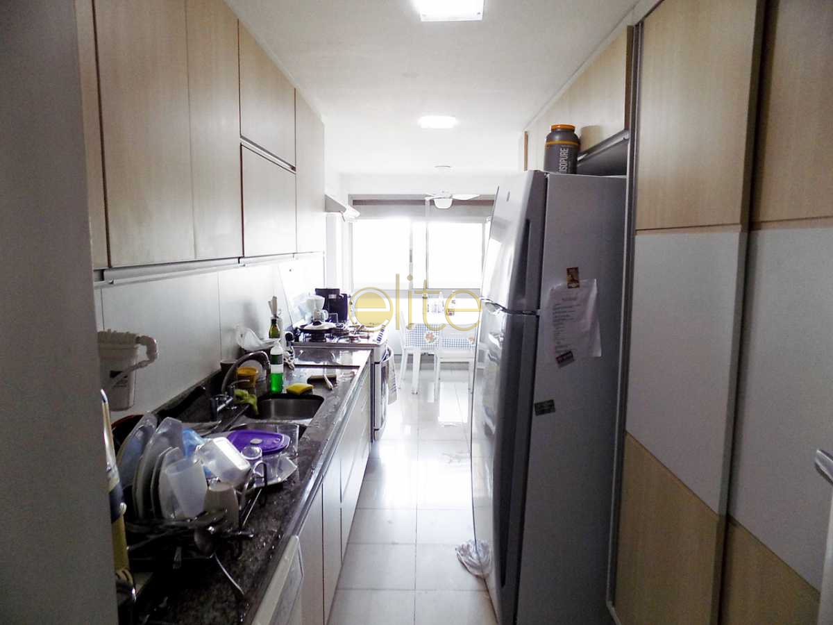 32 cozinha f.3 - Apartamento À Venda no Condomínio Santa Monica Jardins Club - Barra da Tijuca - Rio de Janeiro - RJ - 40199 - 31