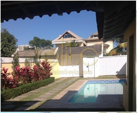 FOTO2 - Casa em Condomínio Alvorada da Barra, Avenida Salvador Allende,Recreio dos Bandeirantes, Rio de Janeiro, RJ À Venda, 4 Quartos, 254m² - 71550 - 1