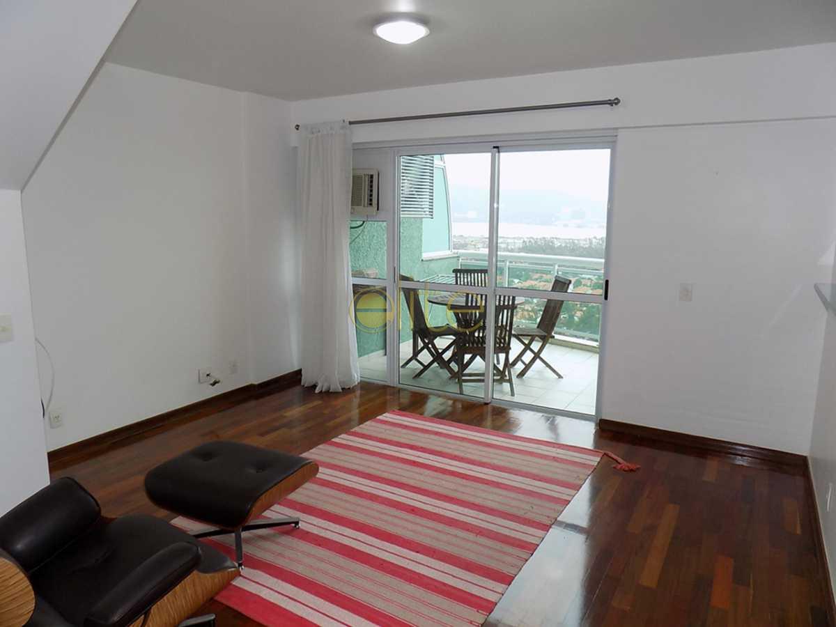 11 sala f.5 - Apartamento Condomínio Mundo Novo, Barra da Tijuca, Barra da Tijuca,Rio de Janeiro, RJ Para Alugar, 2 Quartos, 86m² - 20090 - 12