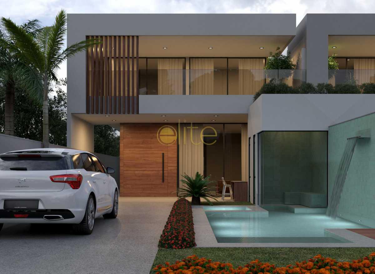 1. - Casa À Venda no Condomínio Blue Houses - Barra da Tijuca - Rio de Janeiro - RJ - EBCN30005 - 1