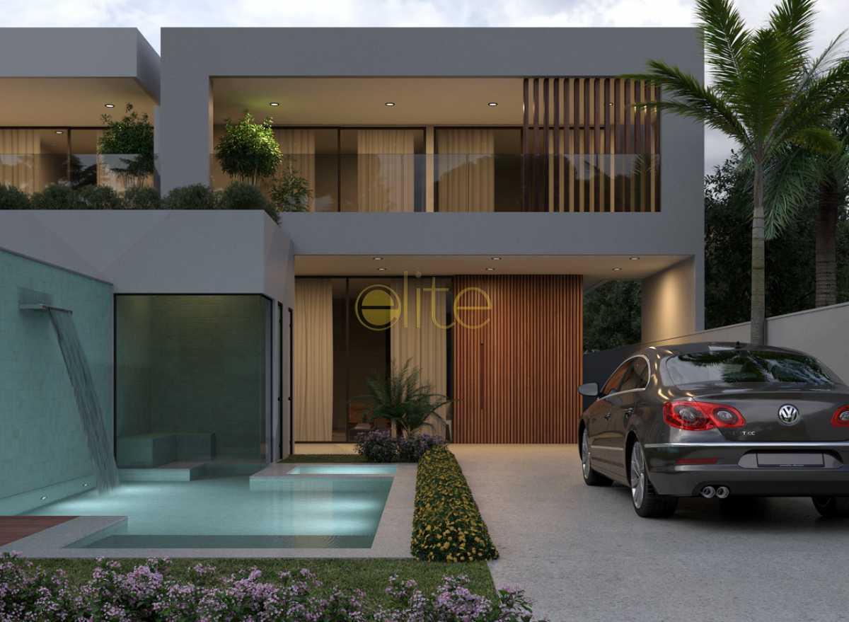 1. - Casa À Venda no Condomínio Blue Houses - Barra da Tijuca - Rio de Janeiro - RJ - EBCN30006 - 1
