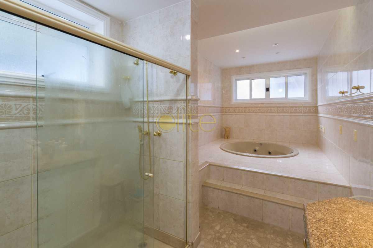 CASA A VENDA BARRA DA TIJUCA C - Casa em Condomínio 6 quartos à venda Barra da Tijuca, Barra da Tijuca,Rio de Janeiro - R$ 4.100.000 - EBCN60025 - 27