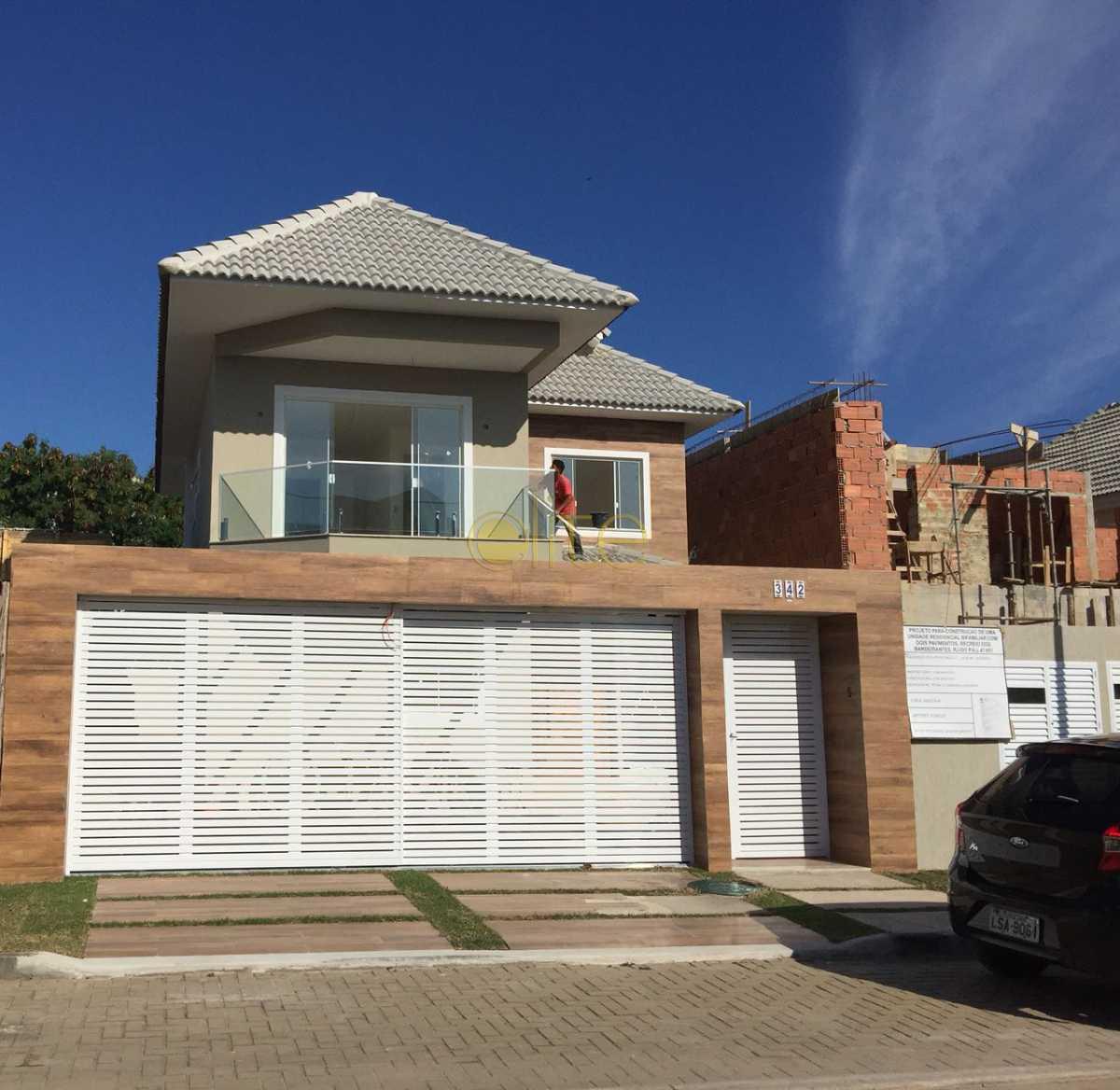 1 - Casa À Venda no Condomínio Art-Life - Recreio dos Bandeirantes - Rio de Janeiro - RJ - EBCN40141 - 1
