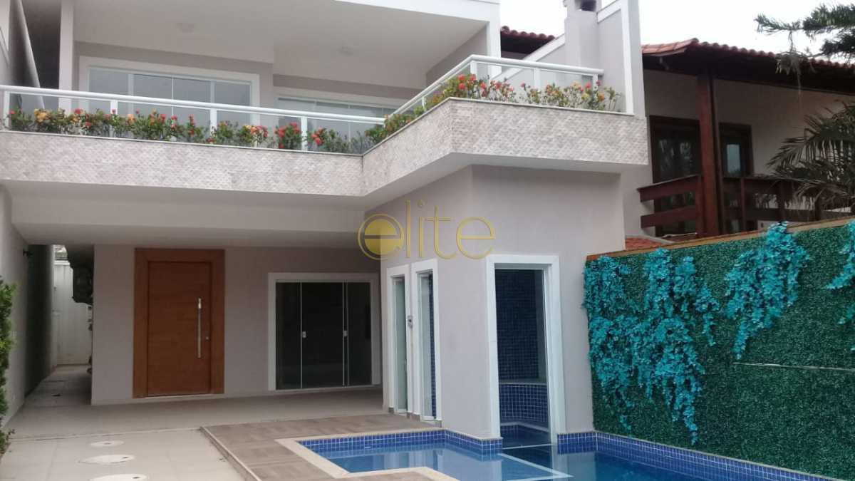 01 - Casa À Venda no Condomínio Interlagos de Itaúna - Barra da Tijuca - Rio de Janeiro - RJ - EBCN40154 - 1