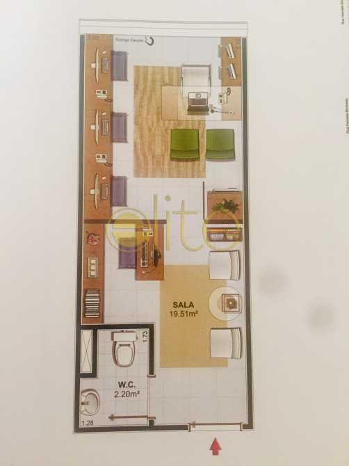 6 - Sala Comercial Condomínio Seletto Business, Barra da Tijuca, Barra da Tijuca,Rio de Janeiro, RJ À Venda, 21m² - EBSL00019 - 7