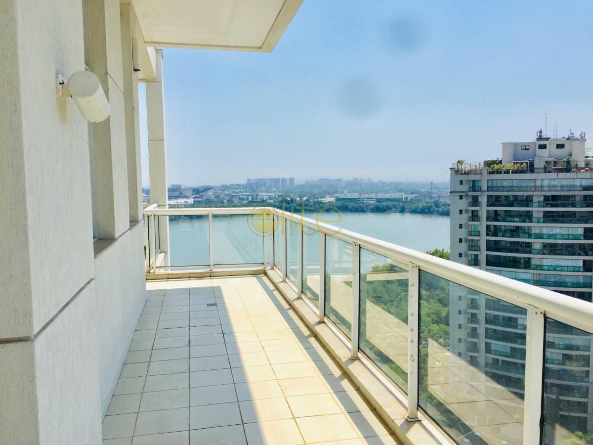 19 - Loft Condomínio Península - Mandarim, Barra da Tijuca, Barra da Tijuca,Rio de Janeiro, RJ Para Alugar, 1 Quarto, 117m² - EBLO10002 - 21