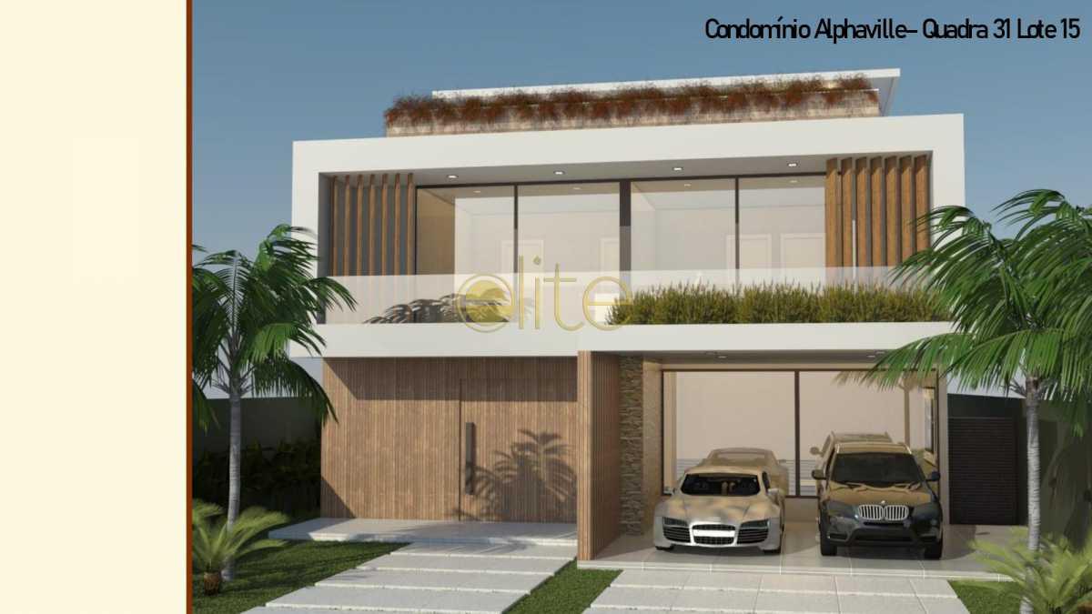 1 - Casa em Condomínio Alphaville, Barra da Tijuca, Barra da Tijuca,Rio de Janeiro, RJ À Venda, 5 Quartos, 850m² - EBCN50184 - 1
