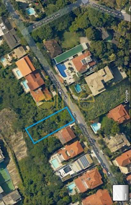 Terreno Joa - Terreno 1100m² à venda Joá, Rio de Janeiro - R$ 900.000 - EBUF00039 - 1