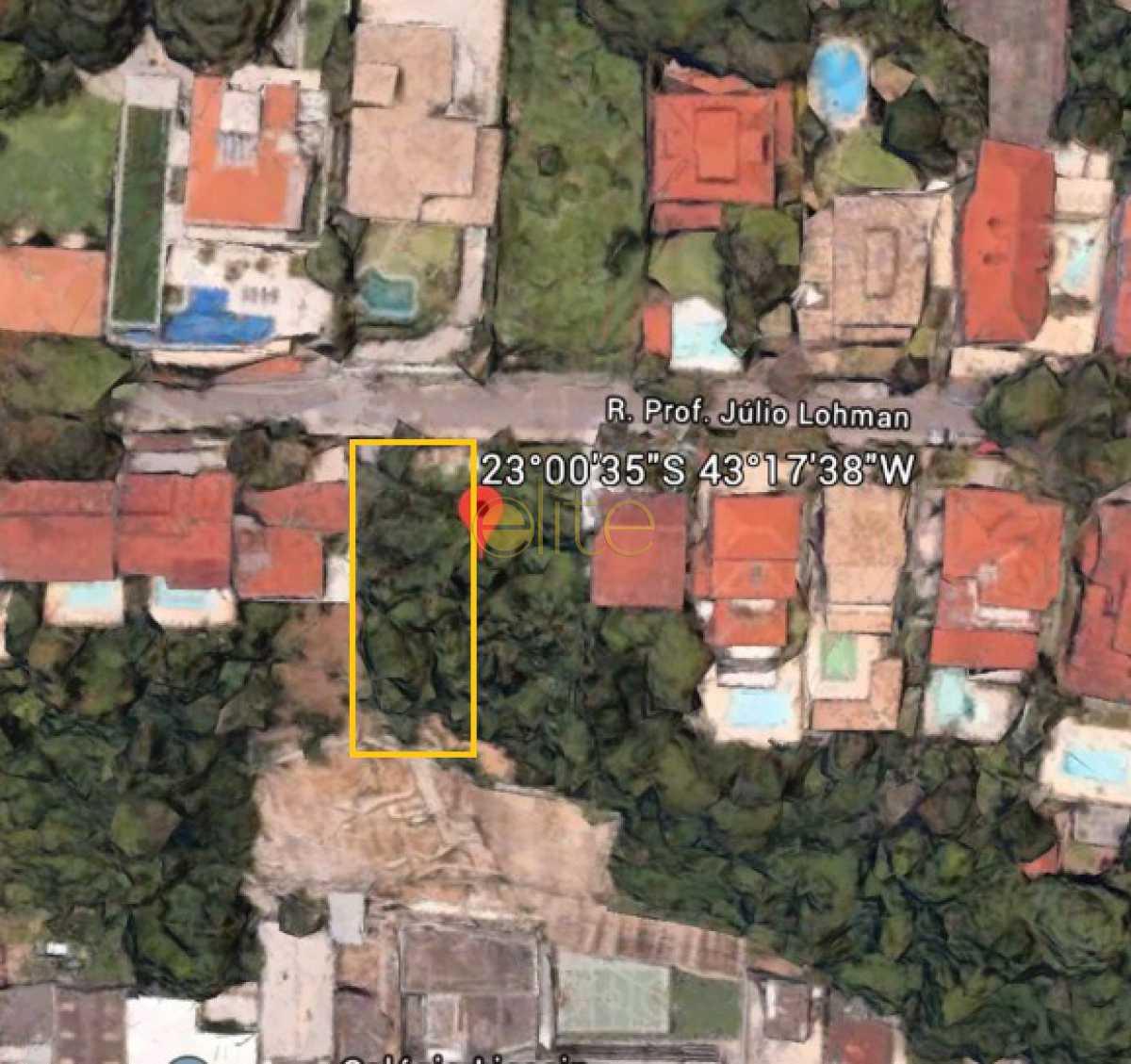 1 - Terreno 1100m² à venda Joá, Rio de Janeiro - R$ 790.000 - EBUF00040 - 1