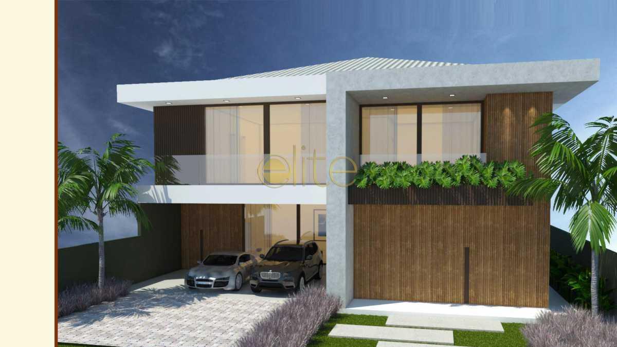 1 - Casa em Condomínio 5 quartos à venda Barra da Tijuca, Barra da Tijuca,Rio de Janeiro - R$ 6.200.000 - EBCN50198 - 1