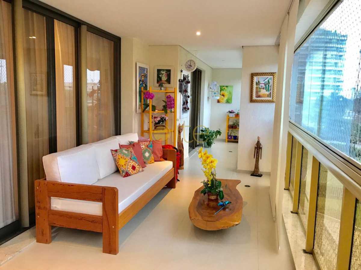 001 - Apartamento À Venda no Condomínio Blue - Barra da Tijuca - Rio de Janeiro - RJ - EBAP30165 - 1