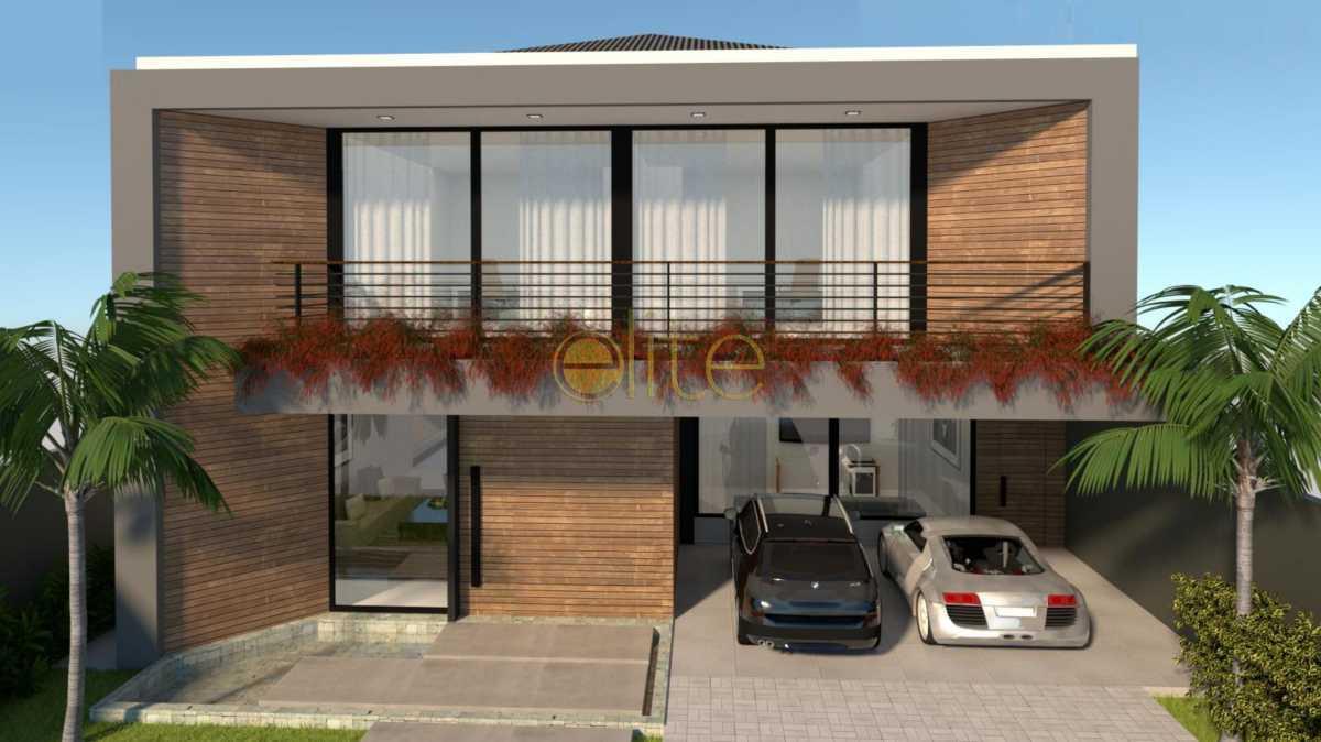 1 - Casa em Condomínio 5 quartos à venda Barra da Tijuca, Barra da Tijuca,Rio de Janeiro - R$ 6.200.000 - EBCN50208 - 1