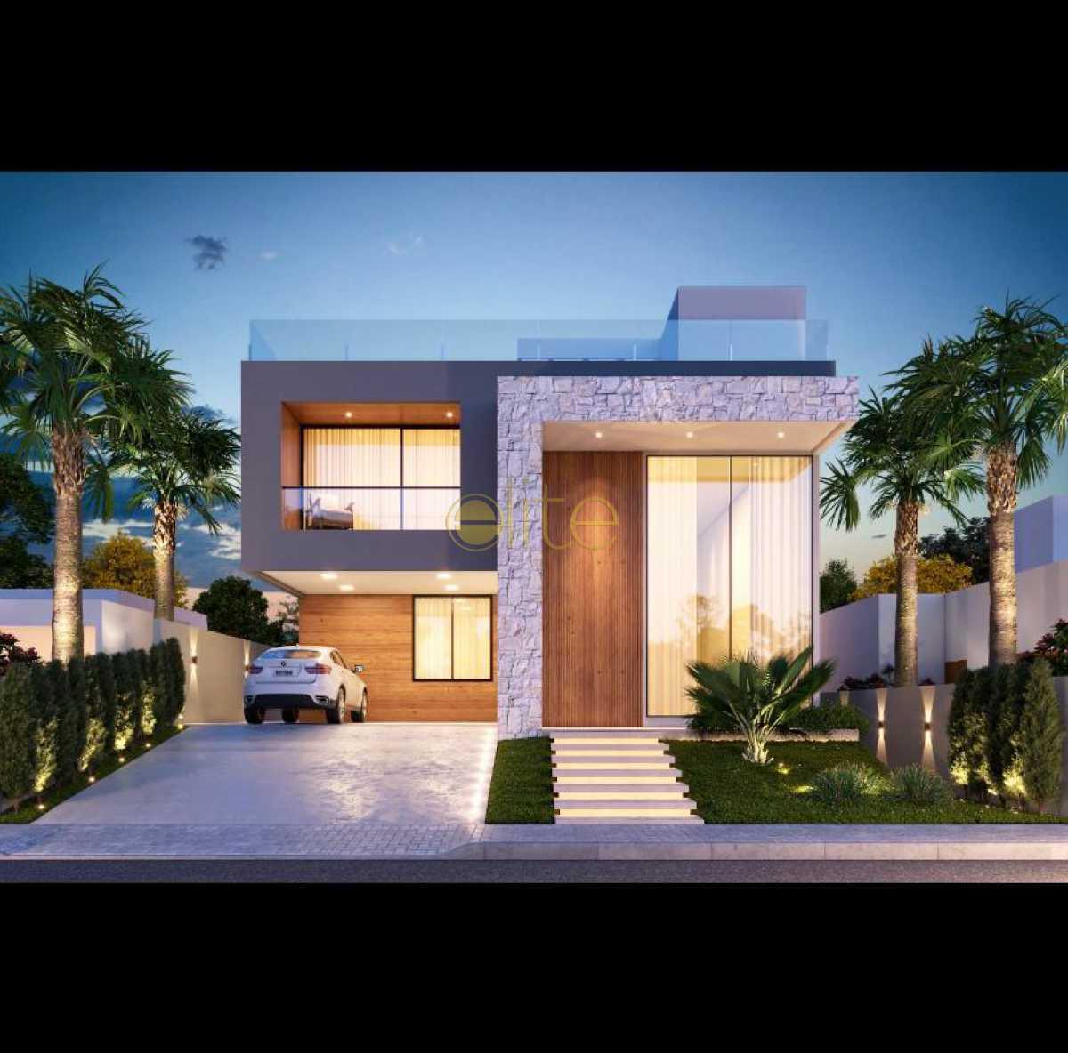 1 - Casa em Condomínio 5 quartos à venda Barra da Tijuca, Barra da Tijuca,Rio de Janeiro - R$ 5.300.000 - EBCN50215 - 1