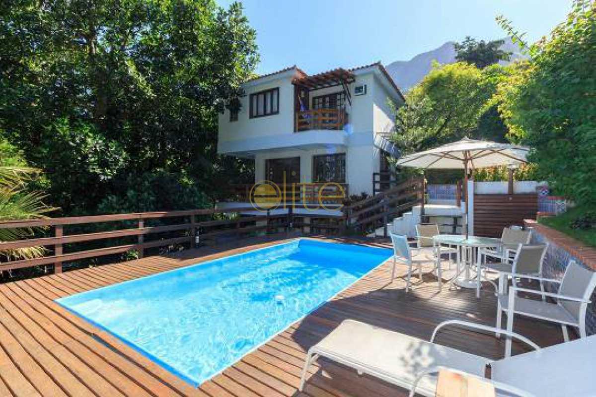 1 - Casa em Condomínio 4 quartos à venda Itanhangá, Rio de Janeiro - R$ 2.200.000 - EBCN40255 - 1