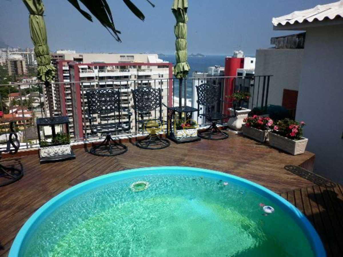 01 - Cobertura Condomínio RHR-Rio Hotel Residence, Avenida Lúcio Costa,Barra da Tijuca,Barra da Tijuca,Rio de Janeiro,RJ À Venda,4 Quartos,190m² - 60028 - 1