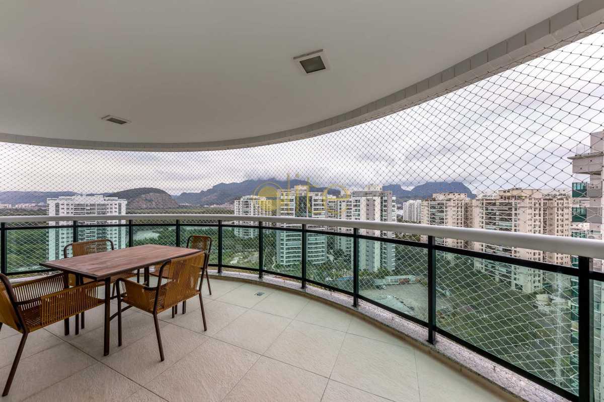 6 - Varandao-LivingRoom - Cobertura Condomínio Península - Green Star, Barra da Tijuca, Barra da Tijuca,Rio de Janeiro, RJ Para Venda e Aluguel, 4 Quartos, 333m² - CO0008 - 7