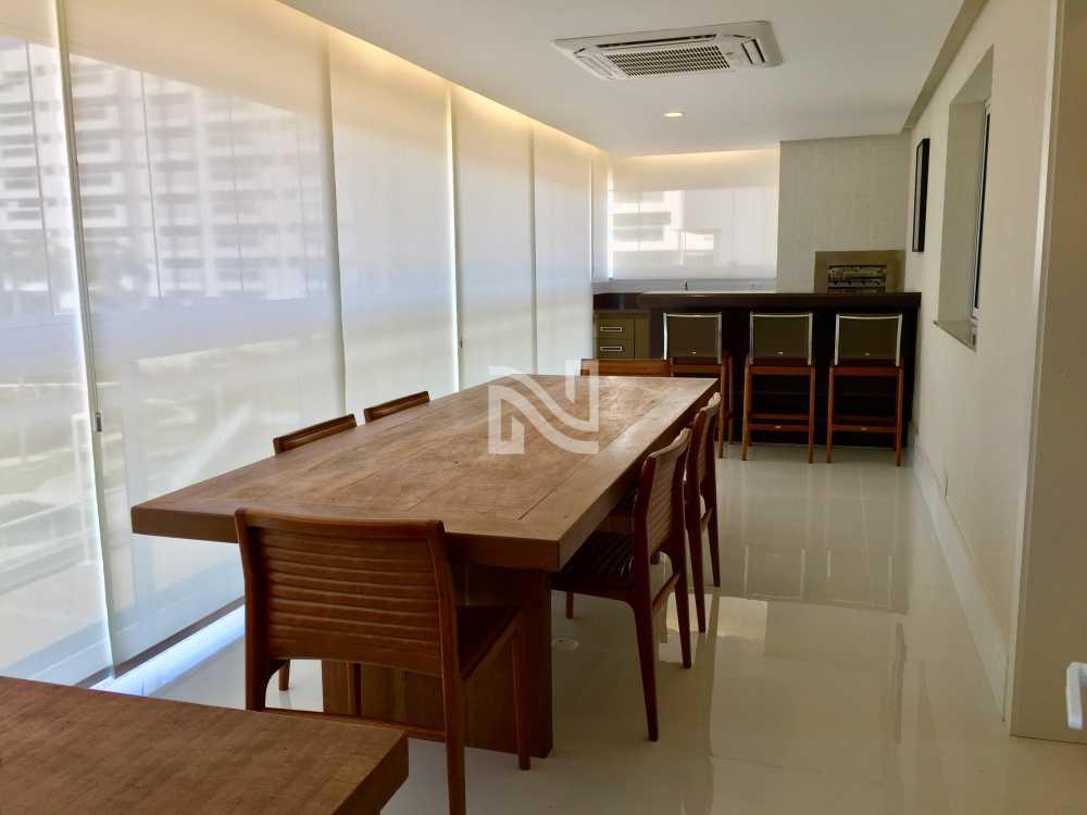 VARANDÃO GOURMET - Apartamento Condomínio ALPHAGREEN , Barra da Tijuca, Rio de Janeiro, RJ À Venda, 3 Quartos, 122m² - SVAP30001 - 4