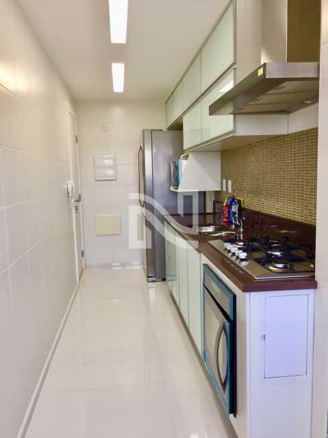 COZINHA PLANEJADA 03 - Apartamento Condomínio ALPHAGREEN , Barra da Tijuca, Rio de Janeiro, RJ À Venda, 3 Quartos, 122m² - SVAP30001 - 17