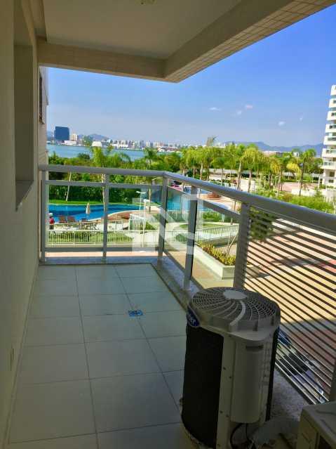 VARANDA STE MASTER - Apartamento Condomínio ALPHAGREEN , Barra da Tijuca, Rio de Janeiro, RJ À Venda, 3 Quartos, 122m² - SVAP30001 - 22