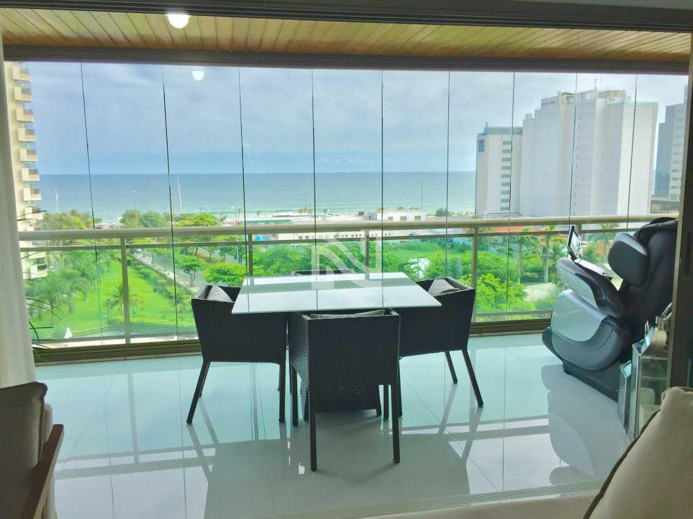VARANDÃO - Apartamento À Venda no Condomínio GOLDEN GREEN - Barra da Tijuca - Rio de Janeiro - RJ - SVAP40077 - 4
