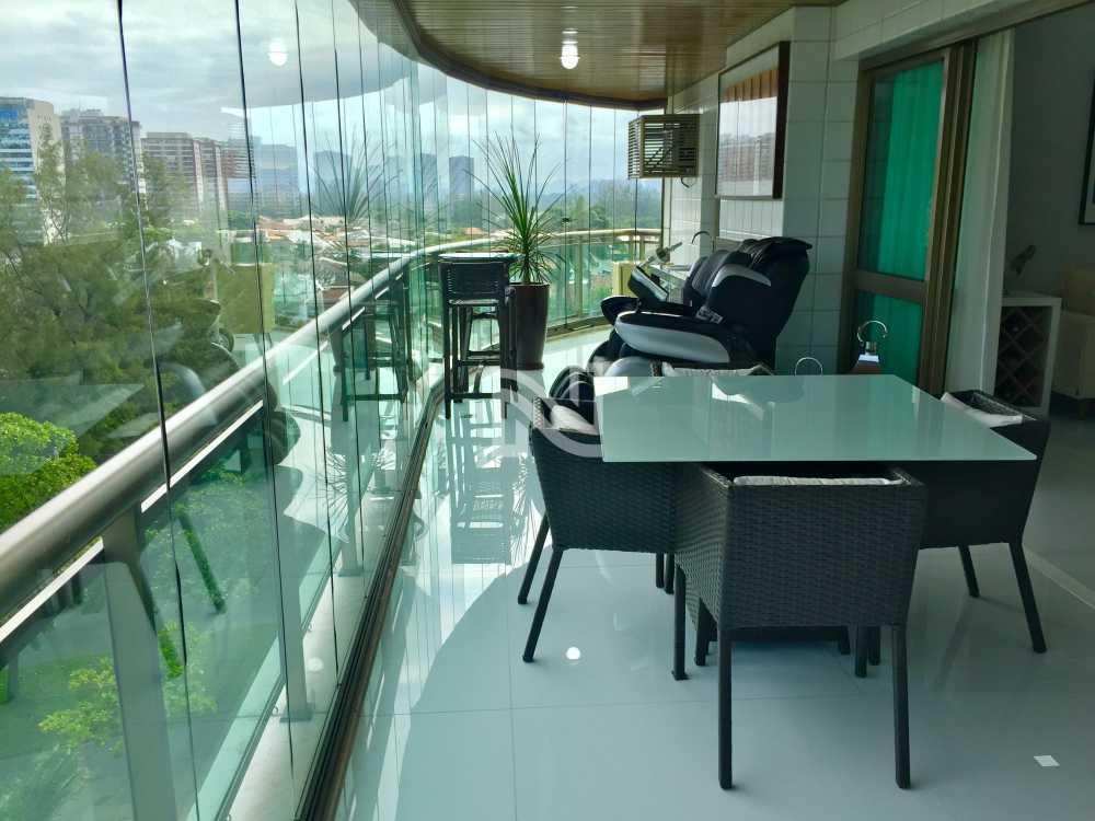 VARANDÃO 03 - Apartamento À Venda no Condomínio GOLDEN GREEN - Barra da Tijuca - Rio de Janeiro - RJ - SVAP40077 - 6