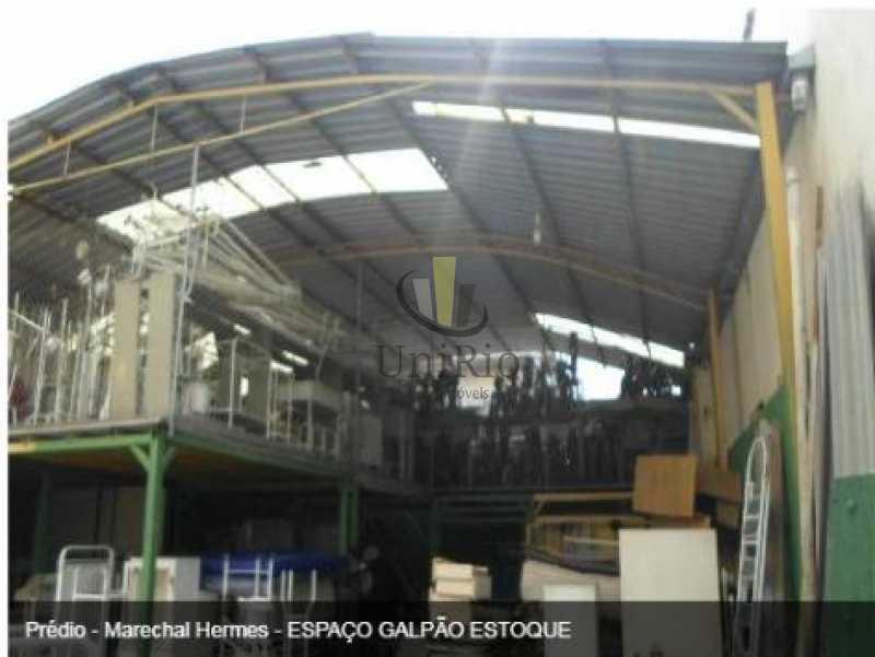 Marechal Hermes 1 1. - Galpão 1240m² à venda Marechal Hermes, Rio de Janeiro - R$ 1.200.000 - FRGA00002 - 1