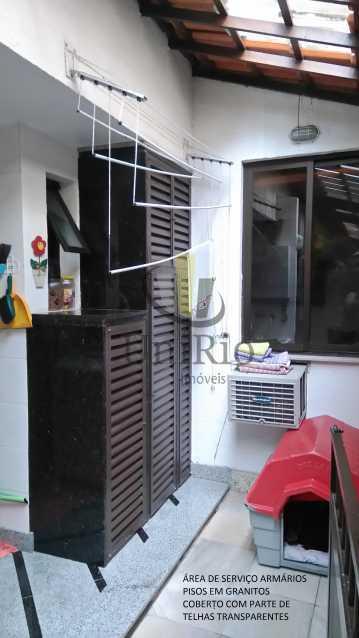 3450EDE7-378B-496B-A505-3D3282 - Casa em Condomínio 5 quartos à venda Taquara, Rio de Janeiro - R$ 620.000 - FRCN50006 - 6