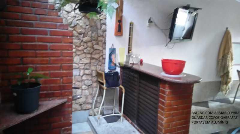 4962C3A7-CCCC-4735-8980-24295F - Casa em Condomínio 5 quartos à venda Taquara, Rio de Janeiro - R$ 620.000 - FRCN50006 - 9